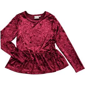 Mädchen Shirt aus zartem Samt
