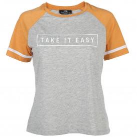 Damen Shirt im College Stil