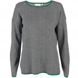 Damen Pullover mit Jacquard Muster