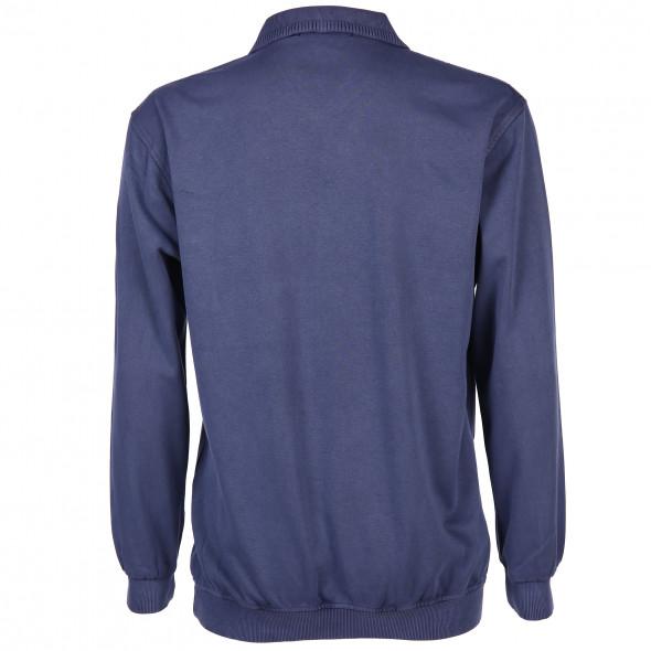 Herren Polosweater mit Brusttasche