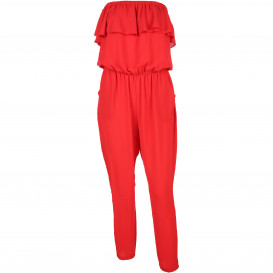 Damen Jumpsuit im Carmenlook