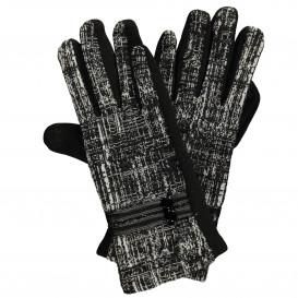 Damen Handschuhe mit effektvollem Muster