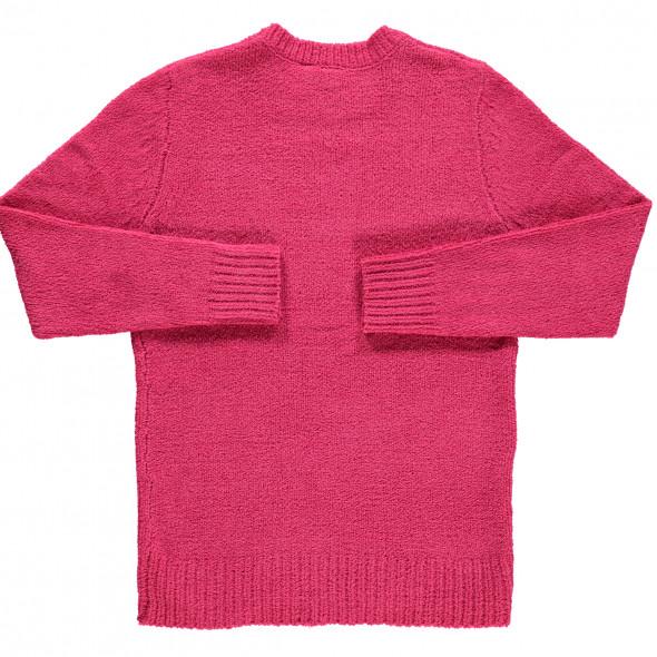 Mädchen Pullover in Chenille-Optik