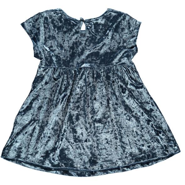 Mädchen Kleid aus Pannesamt
