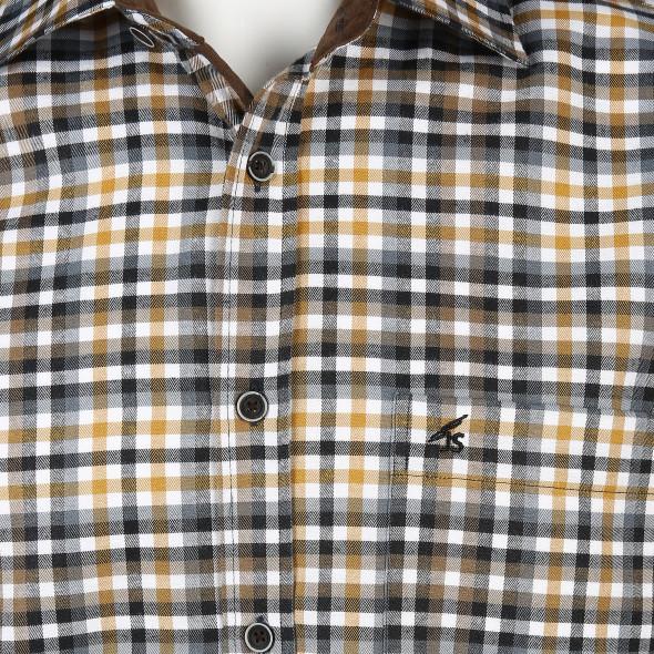 Herren Freizeithemd mit Karo-Look