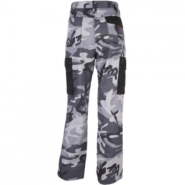 Herren Thermo-Arbeitshose mit Camouflage Print