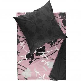 Biber Bettwäsche mit floralem Print 135x200cm