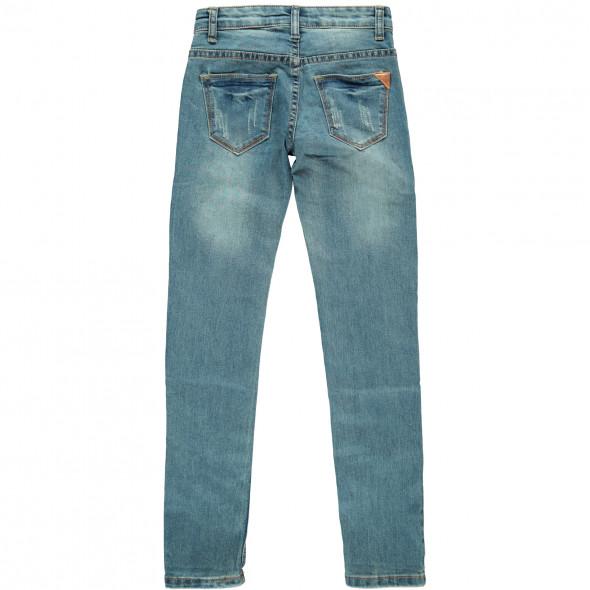 Mädchen Jeans mit Perlenbesatz