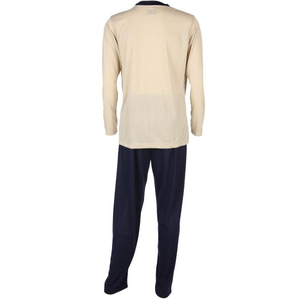 Herren Schlafanzug mit Frontprint
