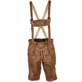 Herren Trachten Shorts aus Lederimitat