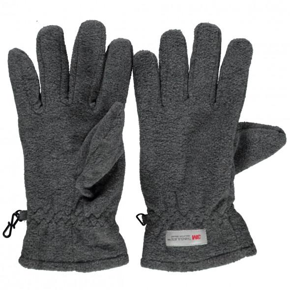 Herren Fleece Fingerhandschuhe