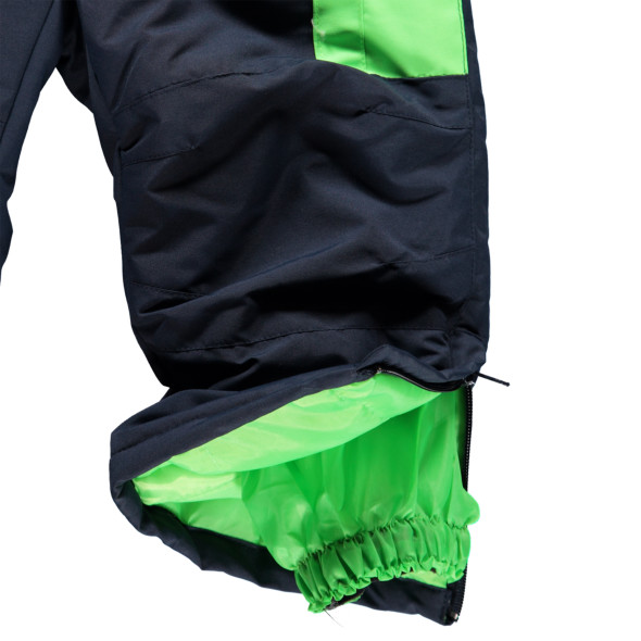 Kinder Skioverall mit abnehmbarer Kapuze