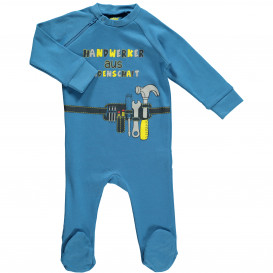 Baby Pyjama mit flottem Spruch