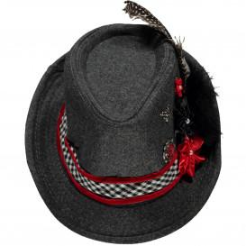 Damen Trachten Hut mit Federn