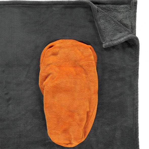 Kuscheldecke mit Fußtasche 150x200cm