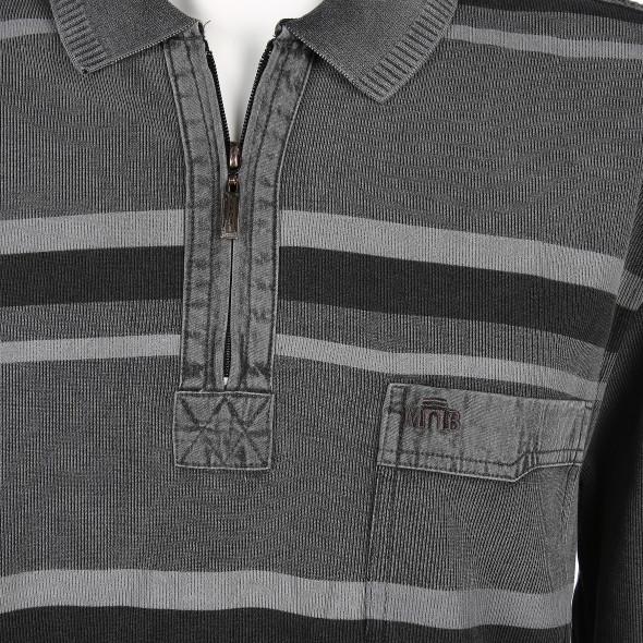 Herren Polo Sweatshirt