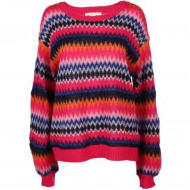 Damen Pullover mit effektvollem Muster