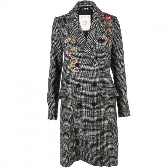 Damen Mantel mit Stickerei