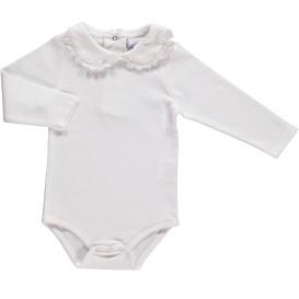 Baby Body mit Spitzenkragen