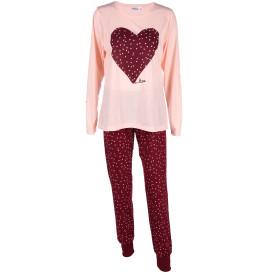 Damen Pyjama mit Print