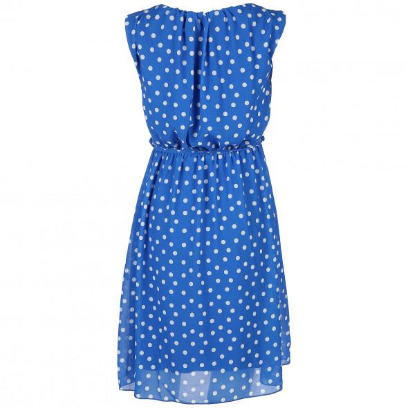 Damen Kleid im Punkte Dessin