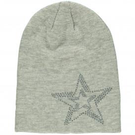 Mädchen Beanie Mütze mit Strasssteinchen
