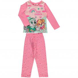 Mädchen Pyjama mit großem Glitzerdruck