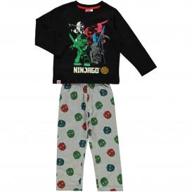 Jungen Pyjama mit Frontdruck