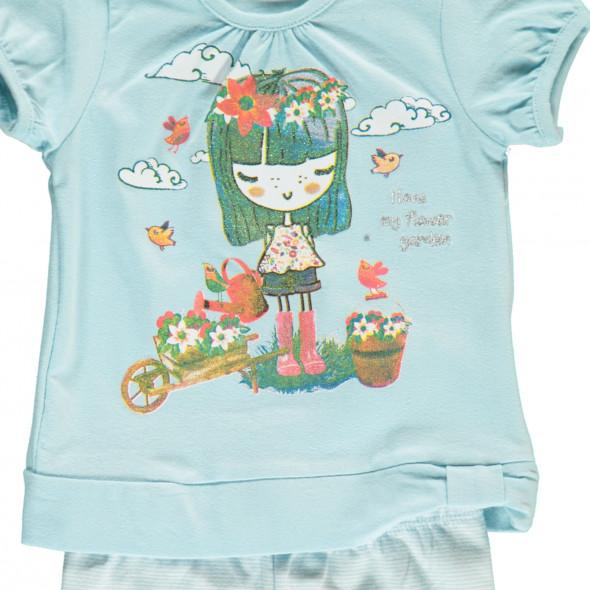 Baby Mädchen Set bestehend aus Shirt und Leggings