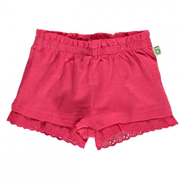 Baby Mädchen Shorts mit Spitze