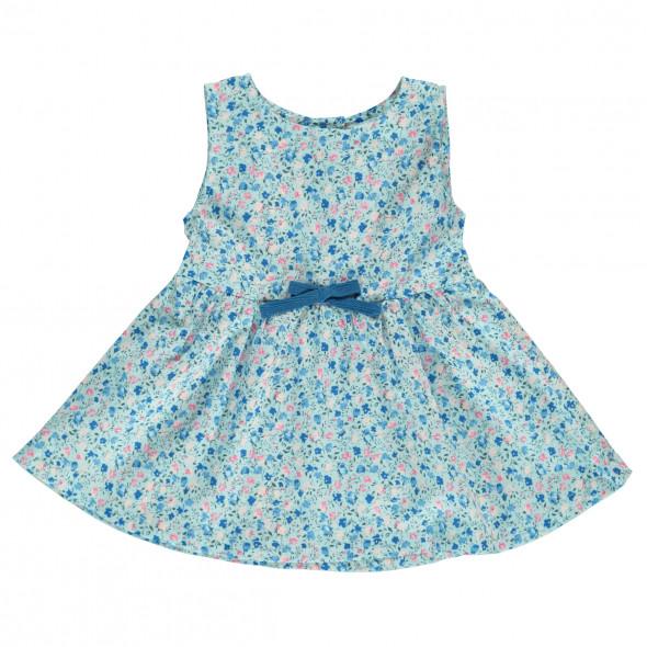 Baby Mädchen Kleid mit Minimalprint