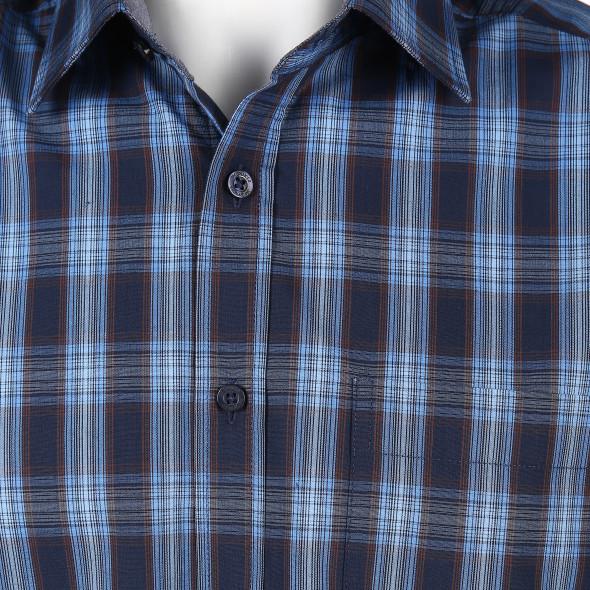 Herren Freizeithemd in karierter Optik