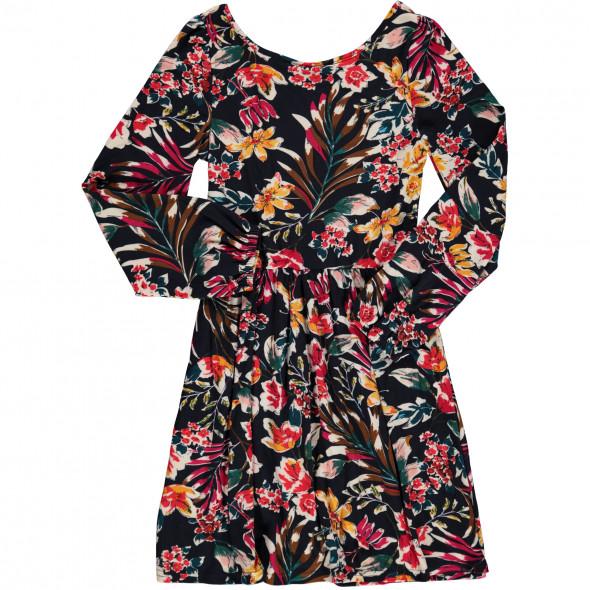 Mädchen Kleid mit Allover-Print