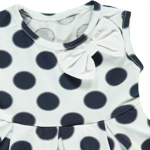 Baby Mädchen Kleid mit Tupfen