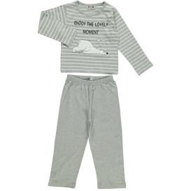 Mädchen Pyjama mit Applikation