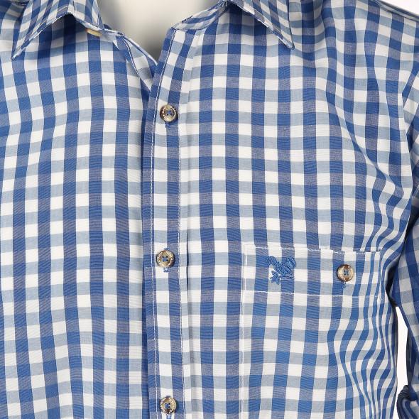Herren Trachtenhemd mit Stickerei