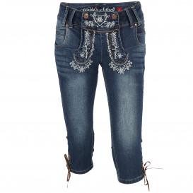Damen Haily's Trachten Kniebund Jeans SUSSI