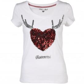 Damen Haily's Trachten Shirt HERZMADEL