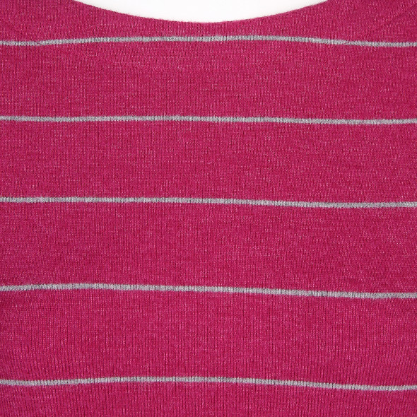 Damen Feinstrickpullover mit zarten Streifen