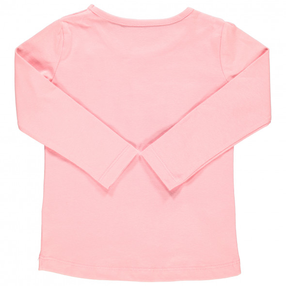 Mädchen Langarmshirt mit Paillettenmotiv