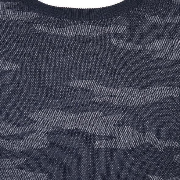 Herren Pullover mit Camouflage Optik