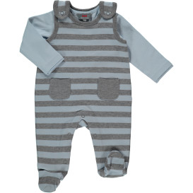 Baby Jungen Strampler mit Langarmshirt