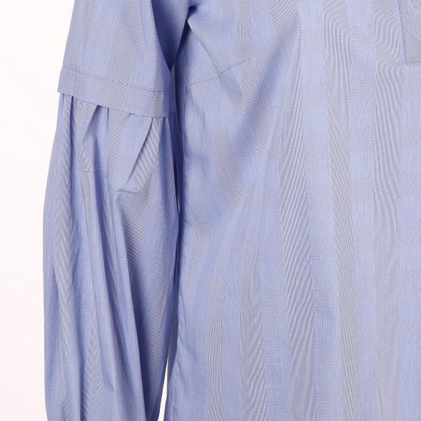 Damen Glencheck Bluse