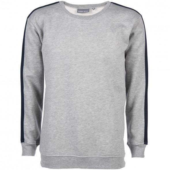 Herren Sweatshirt mit Galonstreifen