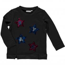 Mädchen Sweatshirt mit Paillettenmotiven