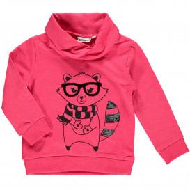 Mädchen Sweatshirt mit Pailletten-Print-Motiv