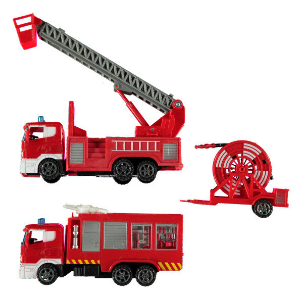 Kinder Feuerwehrstation