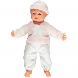 Baby-Puppe mit Sound, ca. 40cm