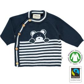 Baby Strickpullover mit Stickerei