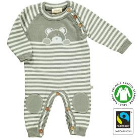 Baby Strickoverall mit Stickerei